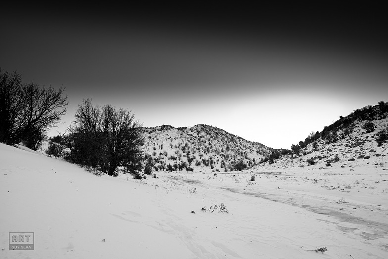 Darkness over me, Mount Hermon