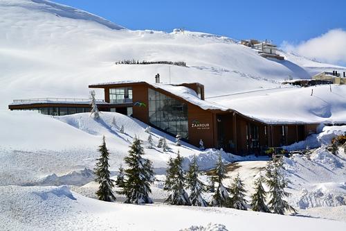 Zaarour Club Ski Resort by: Charbel Abdo