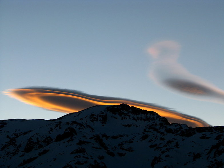 Duck cloud, Valle Nevado