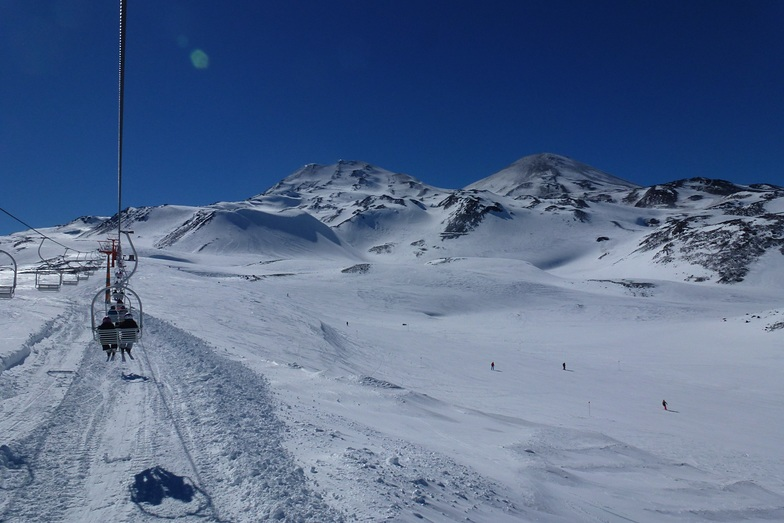 Pista Fresco, Nevados de Chillan