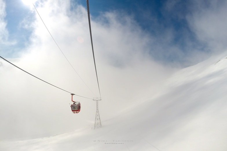 Tochal cable car