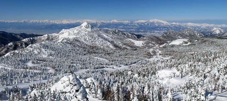 Shiga Kogen-Kumanoyu snow