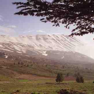 Qornet el sawda in spring, Mzaar Ski Resort