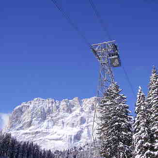 Piz Sella Cable car, Val Gardena