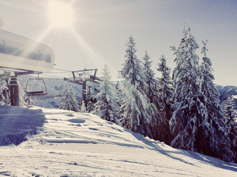 Snow session, Megeve