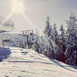 Snow session, Megeve