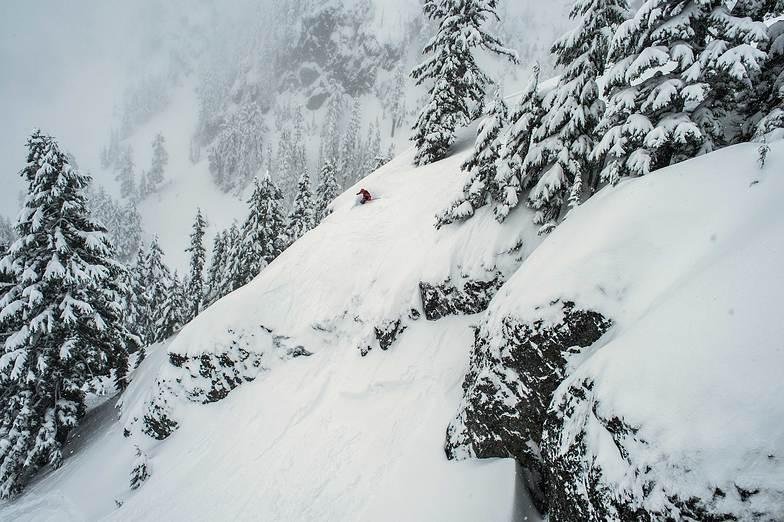 Surfing the Cliffs, Alpental At The Summit