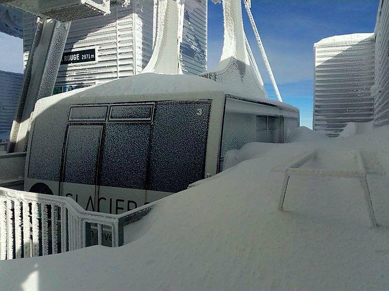 Top cable car station, Gstaad Glacier 3000