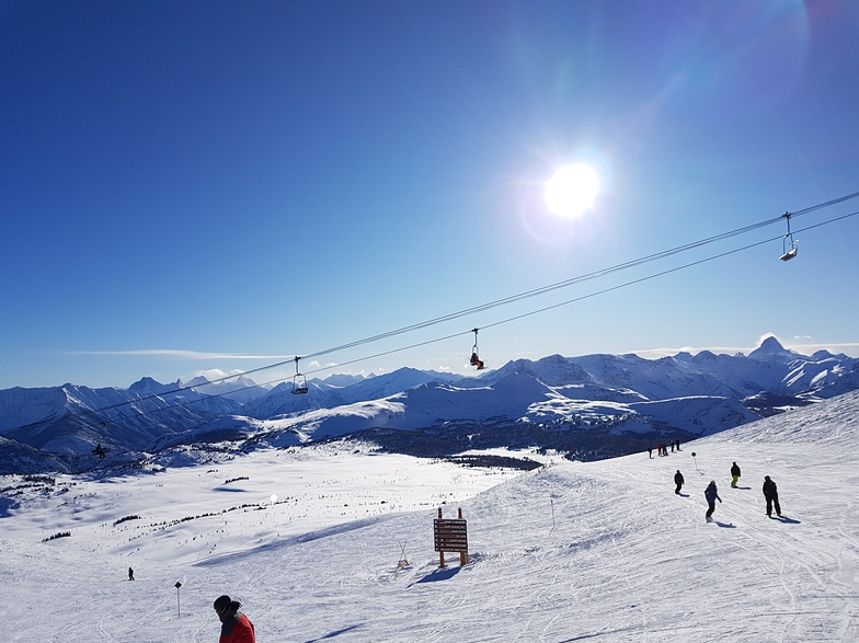 Spectacular day at Sunshine Village