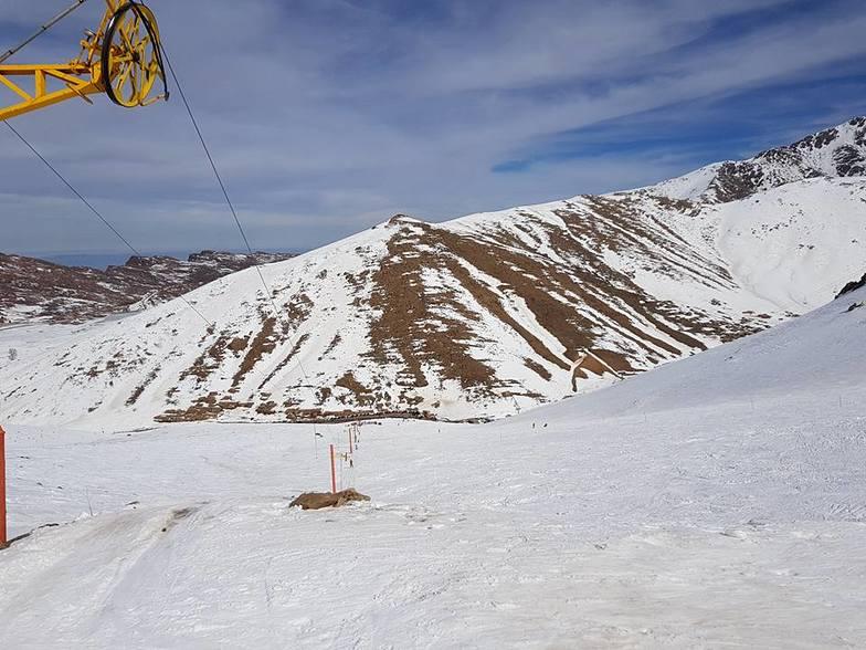 Top of drag lift, Oukaïmeden