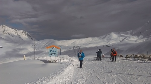 Saint François Longchamp Ski Resort by: Christopher Peter Trace