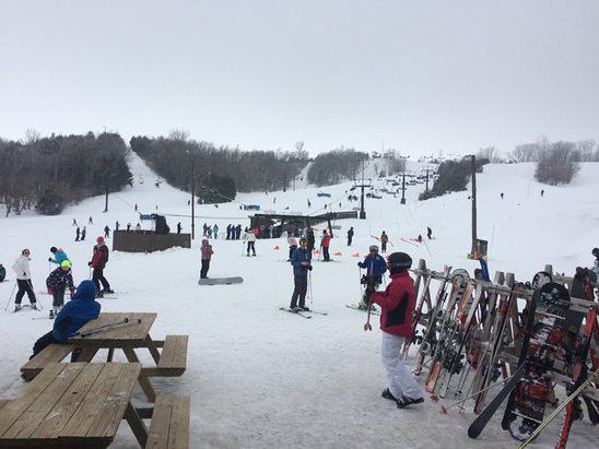 Mount Crescent snow