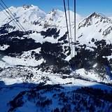 Glacier 3000 gondola view, Gstaad Glacier 3000