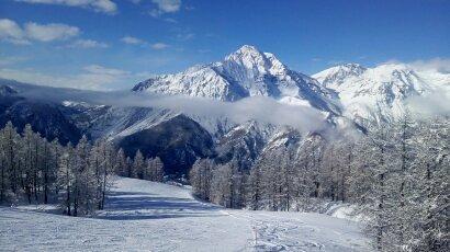 San Sicario (Via Lattea) Ski Resort by: Andrew Evans