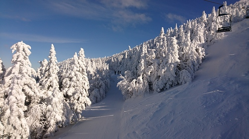 Smuggler's Notch Ski Resort by: Shane