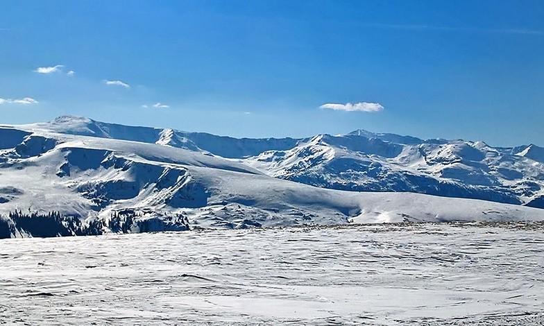 At the top of Vidra - Transalpina, Vidra Transalpina