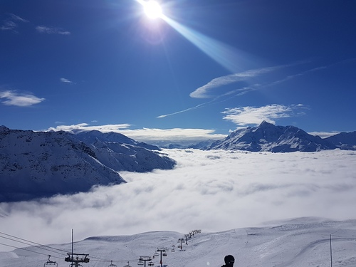 La Thuile Ski Resort by: Dave Coupe