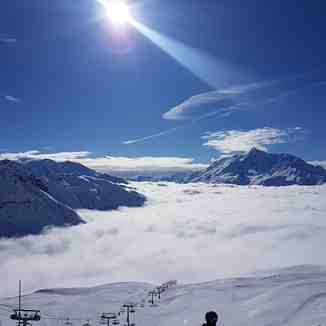 Another stunning morning, La Thuile