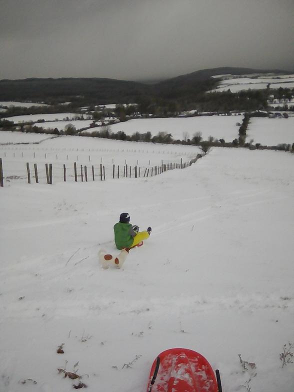 Beginner slope Knocksheegowna., Knockanaffrin (Comeragh Mts)
