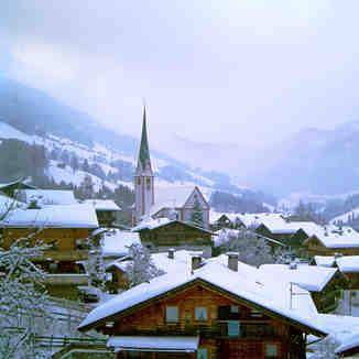 Alpbach, new snow, Alpbachtal