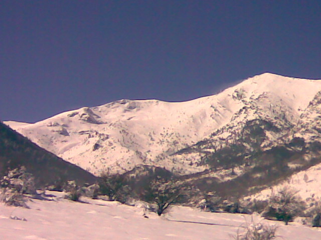 Nizepole-Strezevo snow