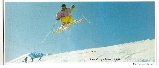kayak hocası kemal yılmaz, Erciyes Ski Resort