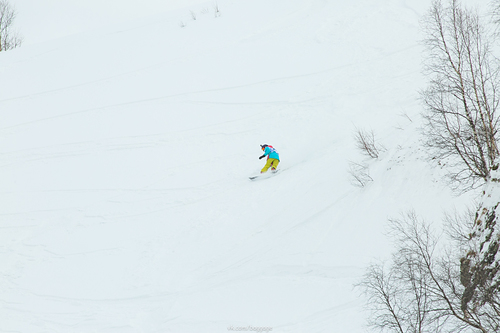 Rosa Khutor Ski Resort by: Kirill Baggage Skryglyukov