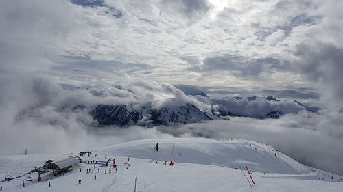 Champagny Ski Resort by: Karen Bilsborough