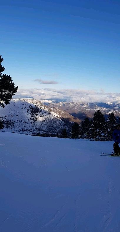 Mijanes-Donezan snow