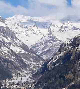Bella vista di Monterosa, Saint-Jean d'Aulps La Grande Terche