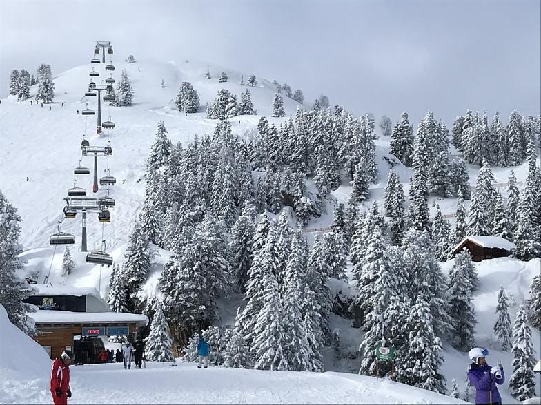 Top of Penken lift, Mayrhofen