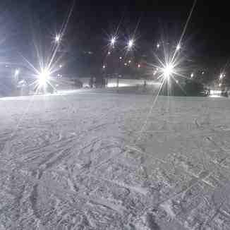 Birthday fun under the lights!!, Ski Roundtop