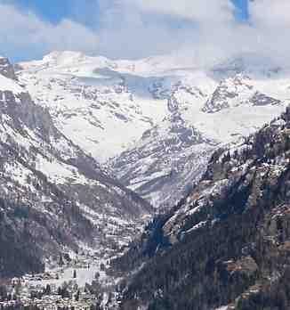 Bella vista di Monterosa, Gressoney-Saint-Jean