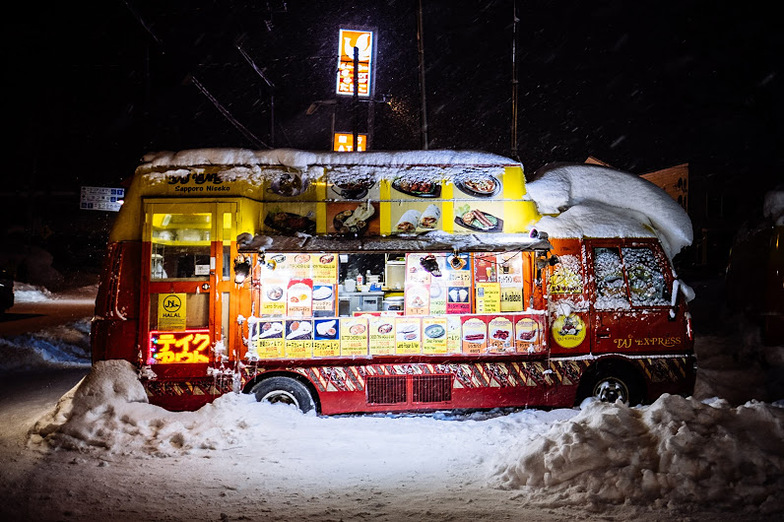 Street food., Niseko Grand Hirafu