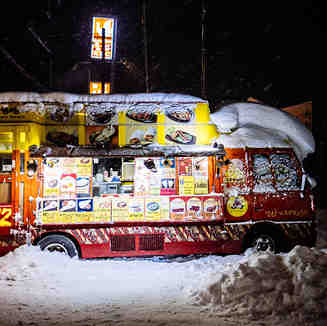 Street food., Niseko Grand Hirafu