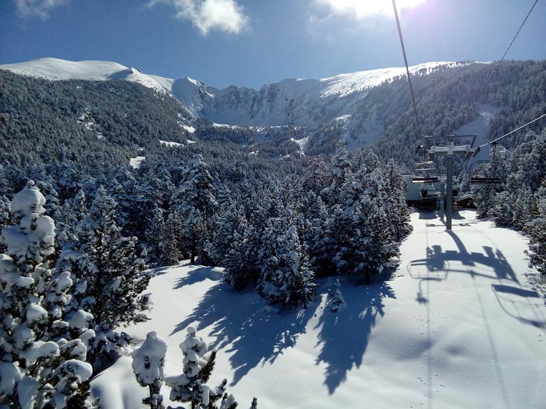 Espace Cambre d'Aze (Eyne 2600) snow