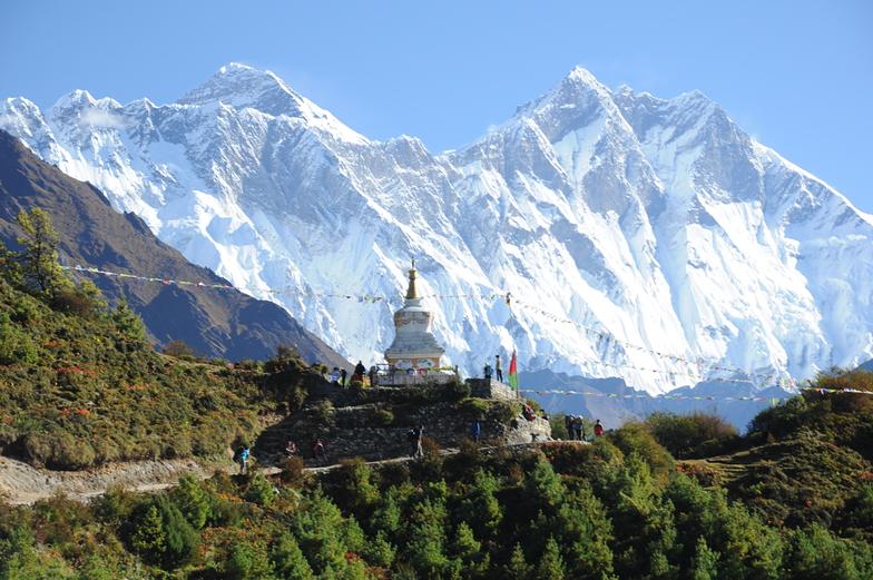 Everest and Lhotse, Mount Everest