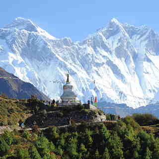 Everest and Lhotse, Mount Everest