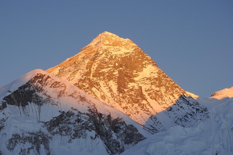 Posta de sol al Himalaya, Mount Everest