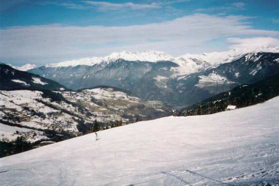 Marc Learning to ski, Valmorel