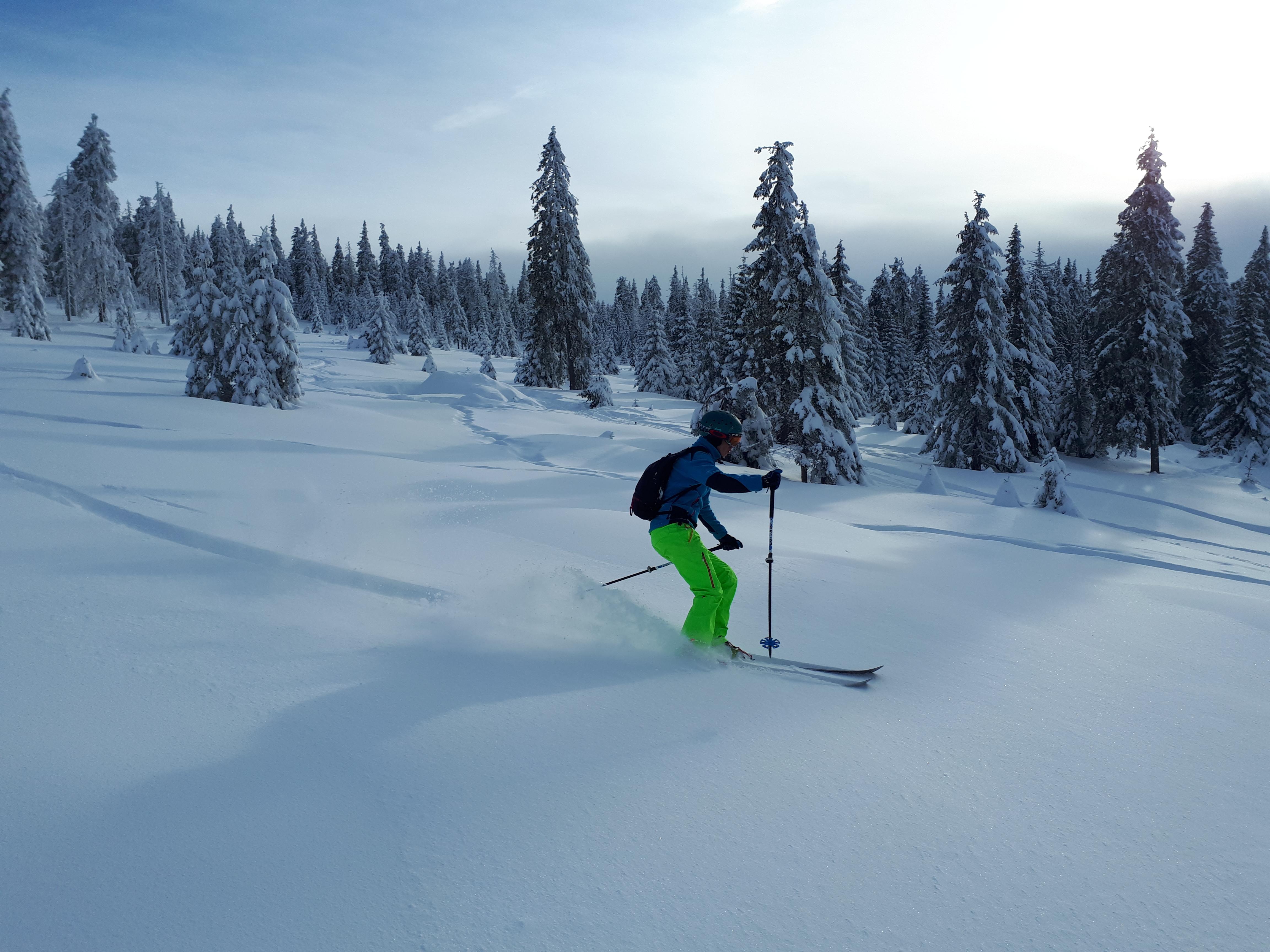 Freeride ski, Harghita Mădăraş