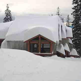 Plenty of powder snow in Big White, Canada.