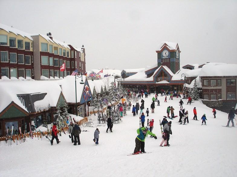 Base at Big White, Feb 2018