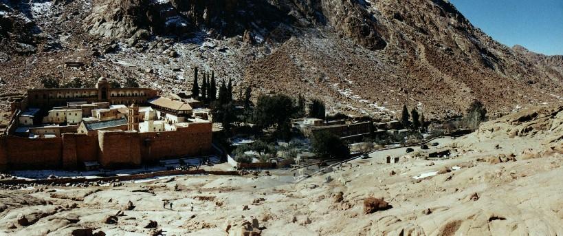 St. Catherine monastery, Egypt., Jabal Katherina