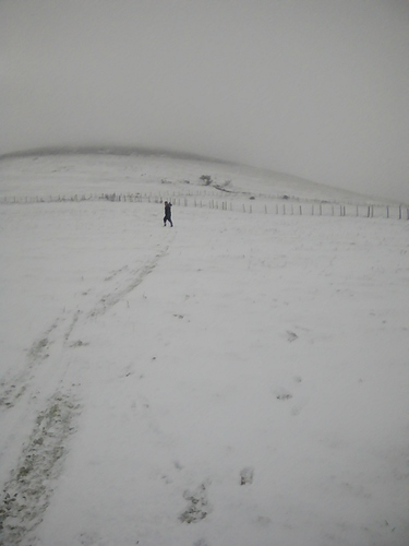 Knockanaffrin (Comeragh Mts) Ski Resort by: Brian Simpson