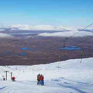 Blue Bird day at Glencoe, Glencoe Mountain Resort