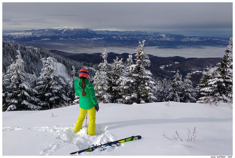 Above the slopes, Poiana Brasov