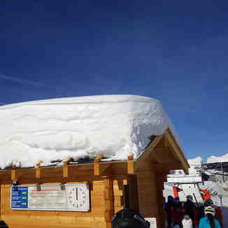 2018's gift of snow to Val d'Anniviers skiers, Grimentz