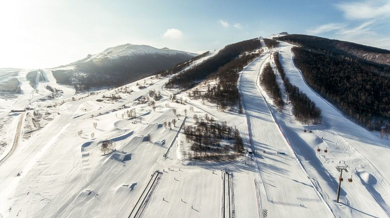 Thaiwoo Ski Resort snow
