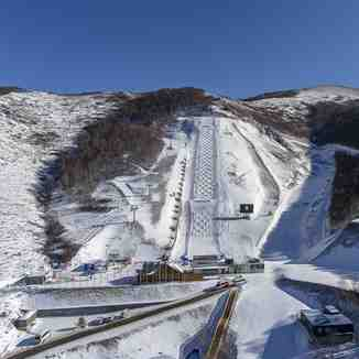 Moguls Venue, Thaiwoo Ski Resort